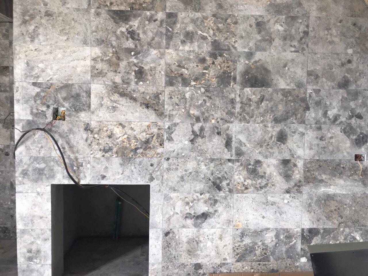 Marble hoa ngà tự nhiên ốp tường.