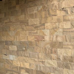 Đá vân gỗ ốp tường độc đáo